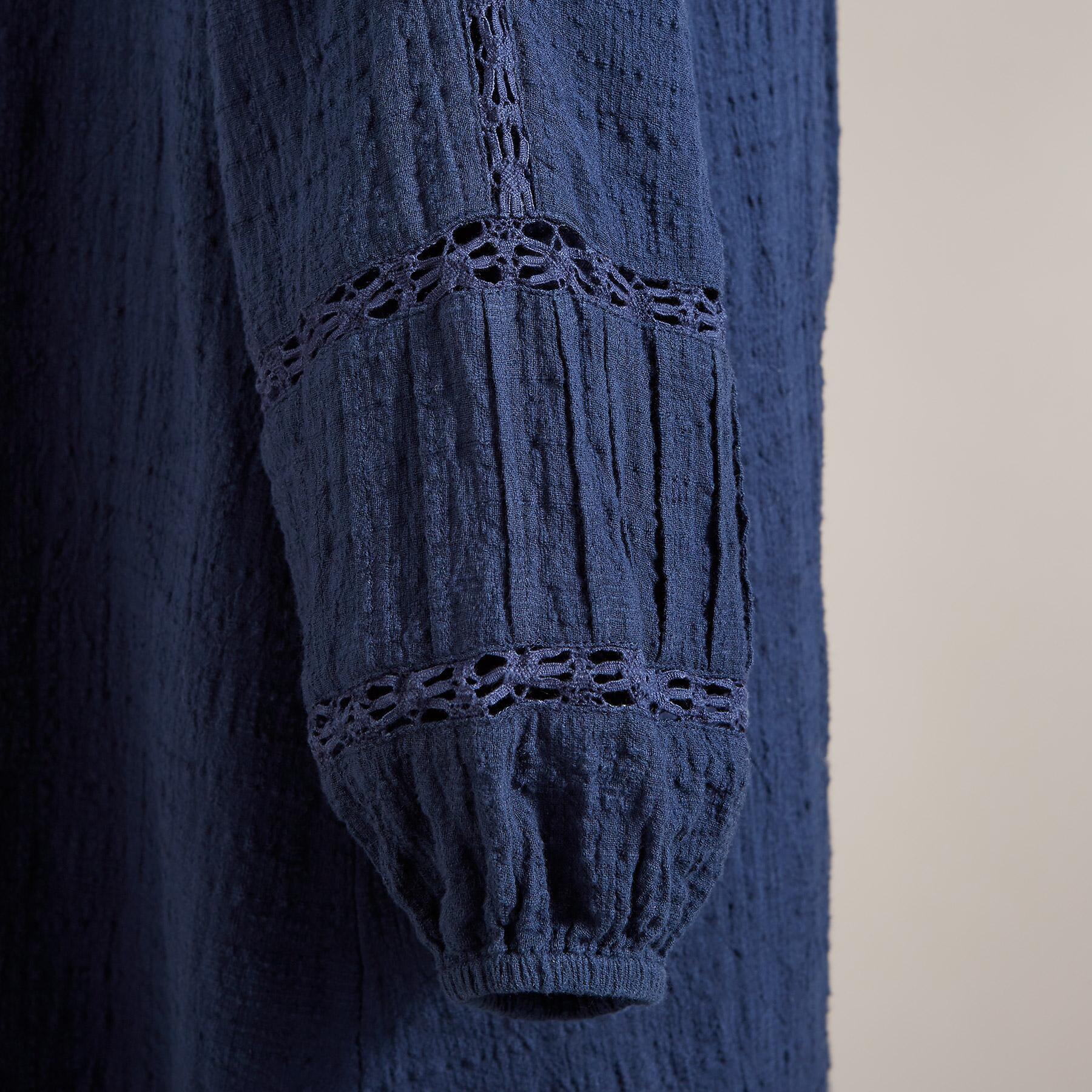 HALLIE PINTUCK DRESS: View 4