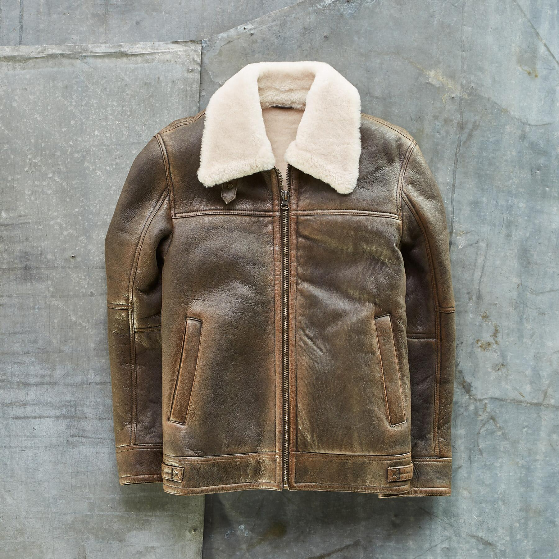 THE BRENT SHEARLING JACKET: View 2
