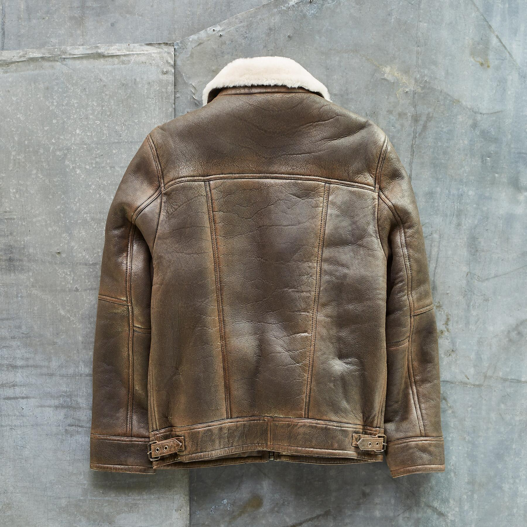 THE BRENT SHEARLING JACKET: View 3