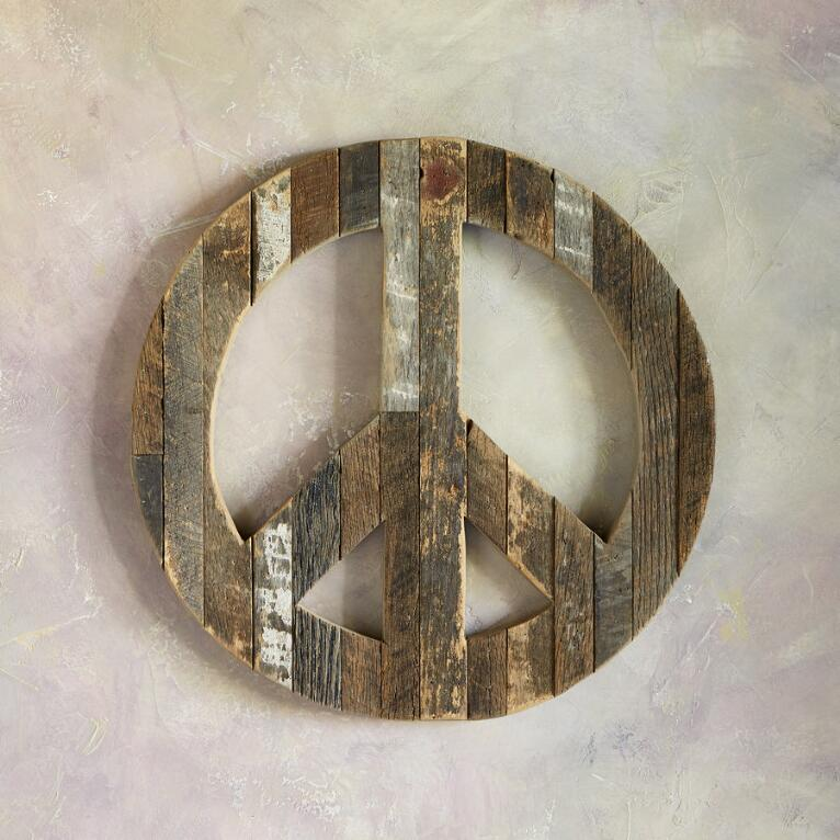 PEACE SIGN WALL ART