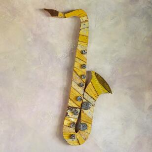 SAXOPHONE WALL ART