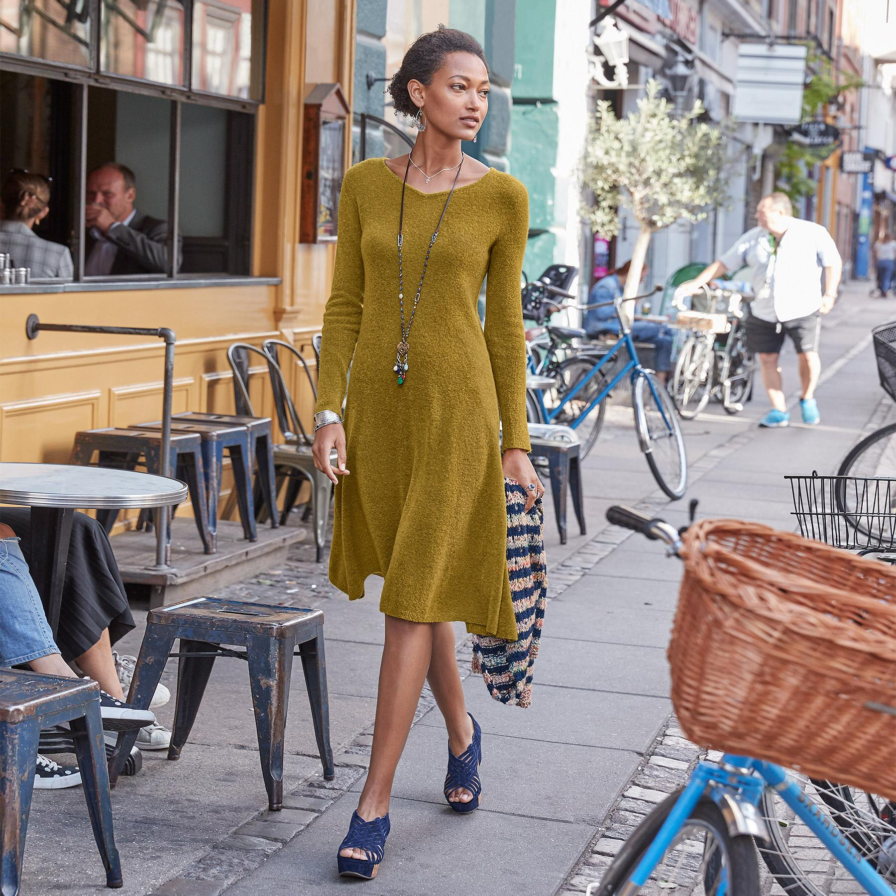 EASY MOTION SWEATER DRESS: View 1