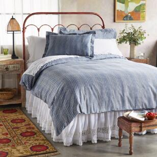CHADWICK FLANNEL DUVET COVER
