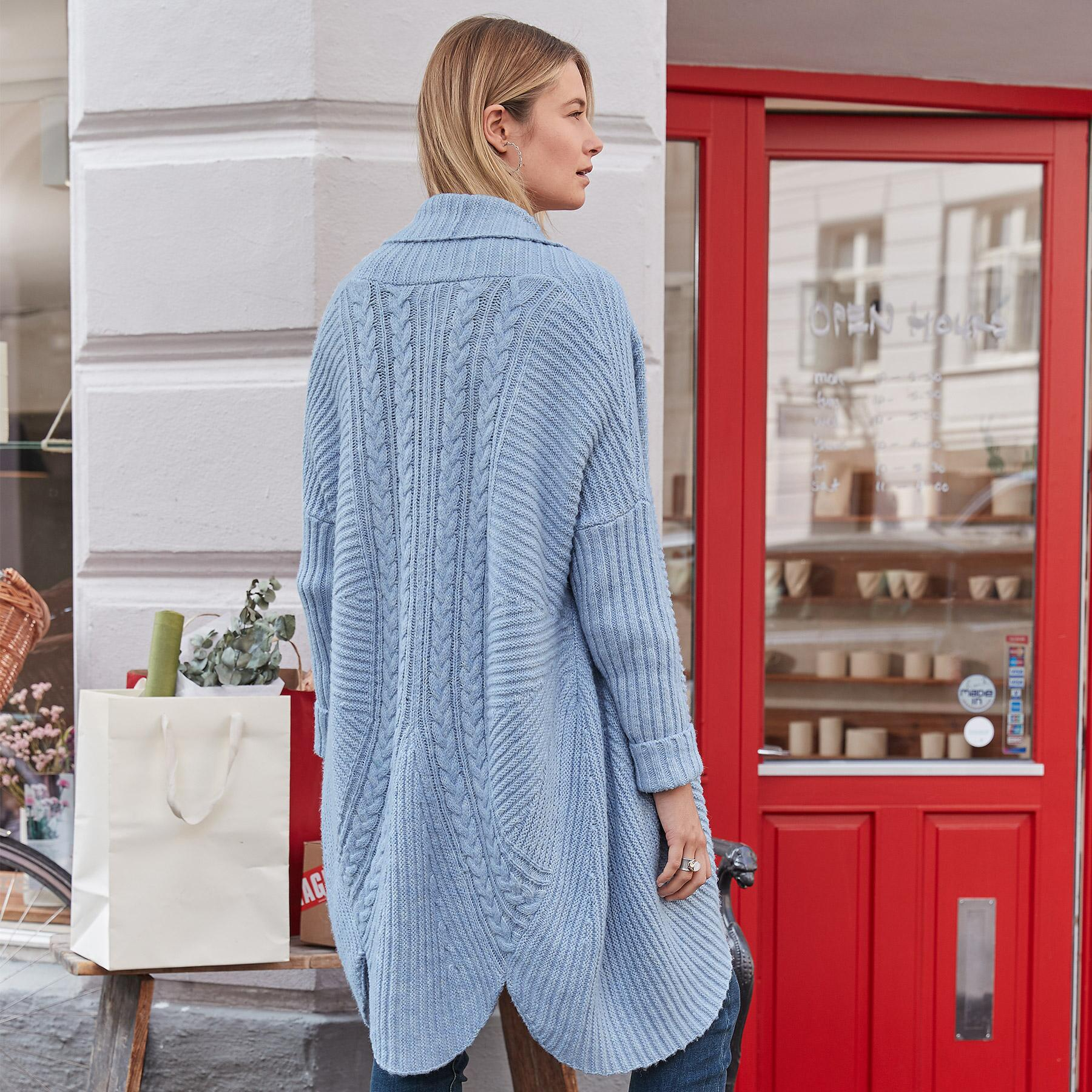 ULTIMATE COCOON CARDIGAN: View 3