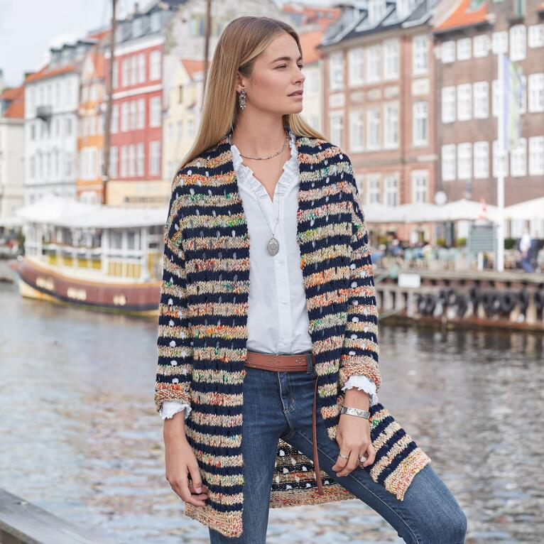 SUNSET MELANGE CARDIGAN