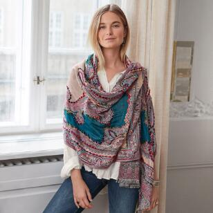 POETRY IN STITCHES SCARF