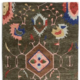 Bijan Tibetan Hand Knotted Rug