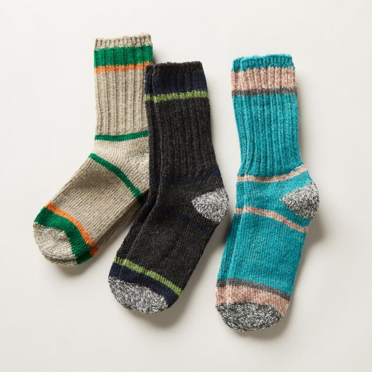 WOOLIES SOCKS, SET OF 3