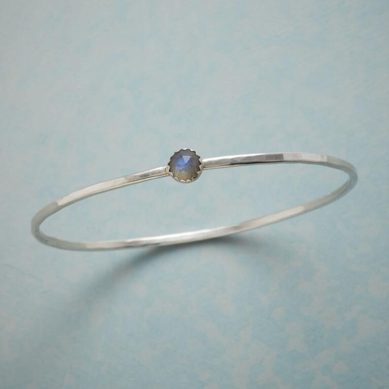 SLENDER LABRADORITE BANGLE