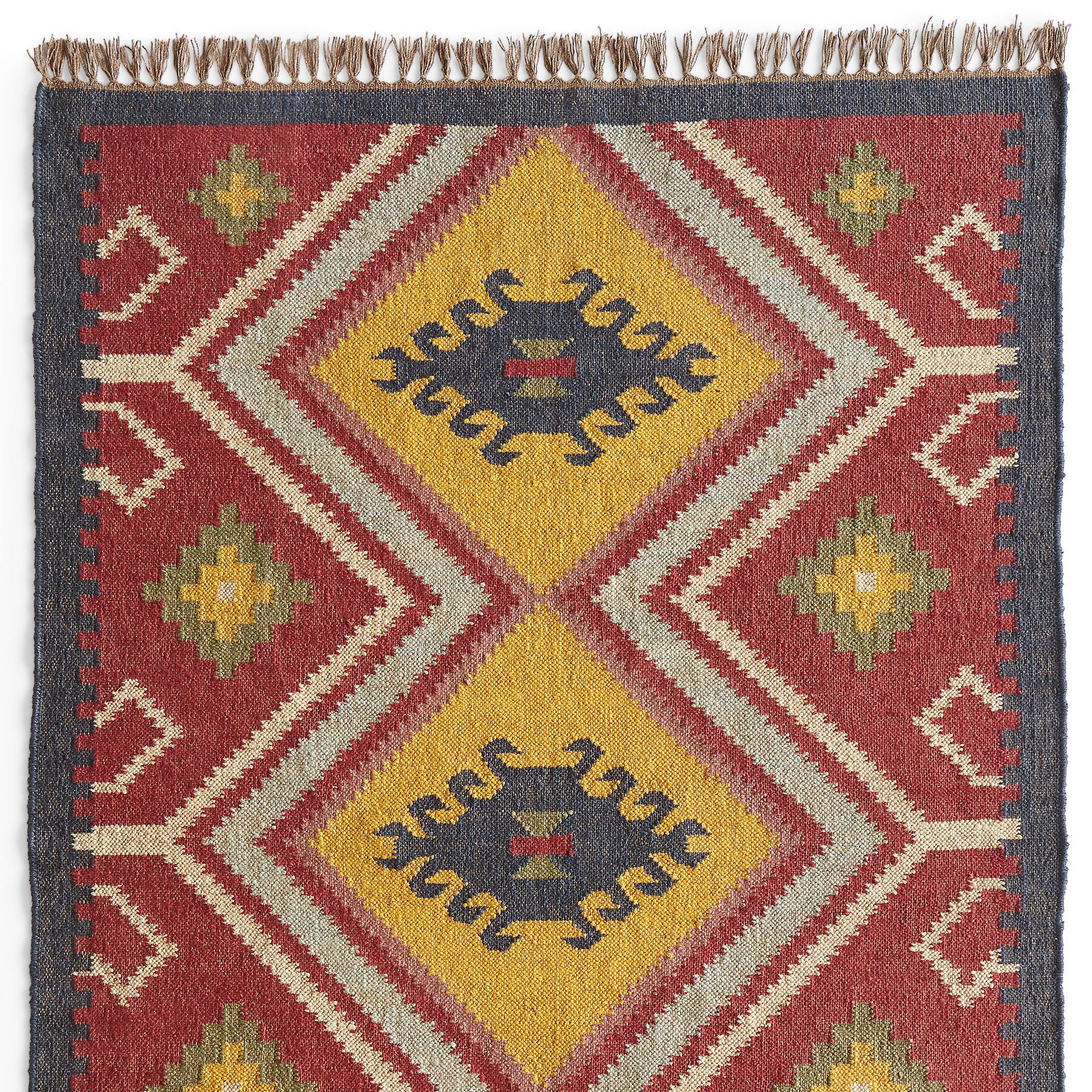 SUN MEADOW KILIM RUG: View 1