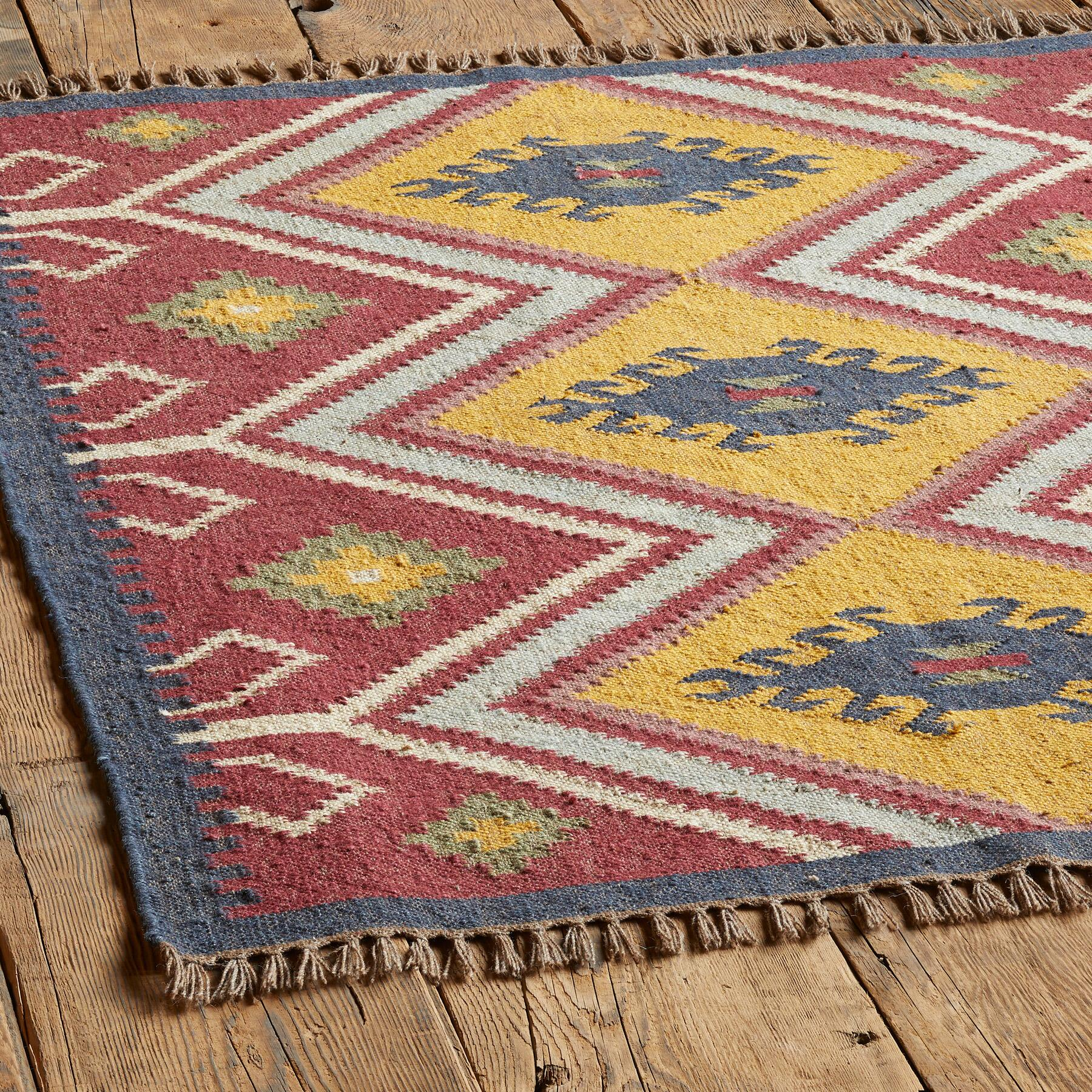 SUN MEADOW KILIM RUG: View 2