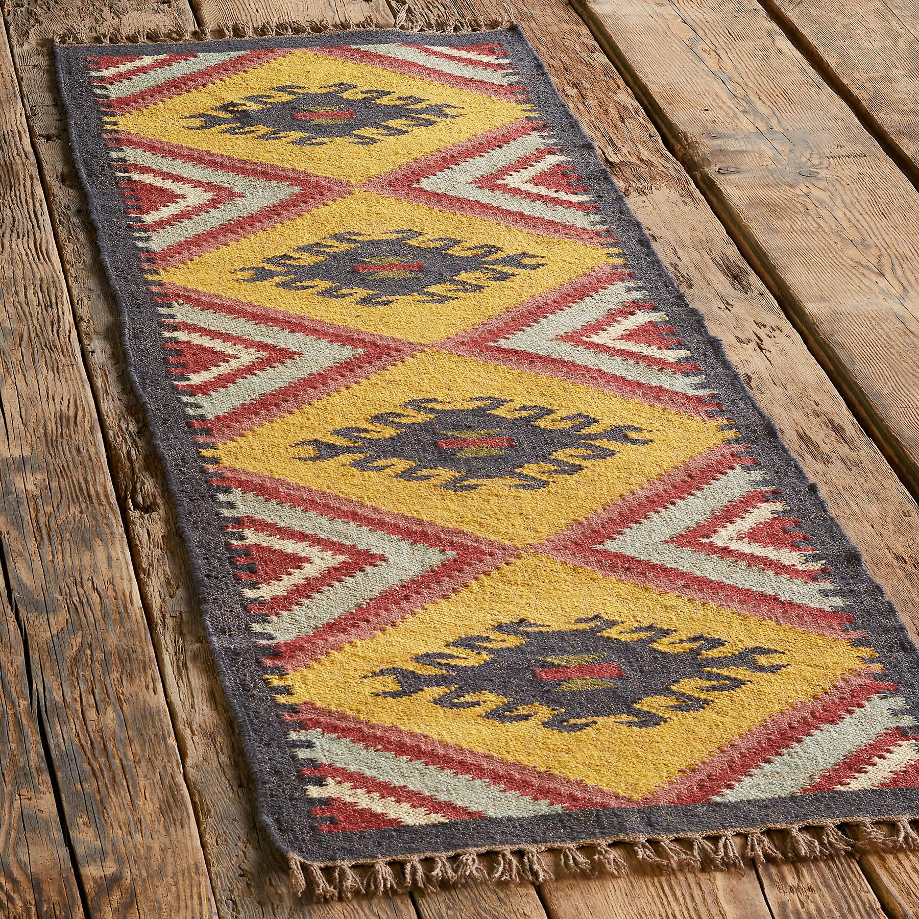 SUN MEADOW KILIM RUG: View 3