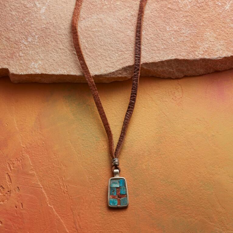 CHARLIE FAVOUR INLAID NECKLACE