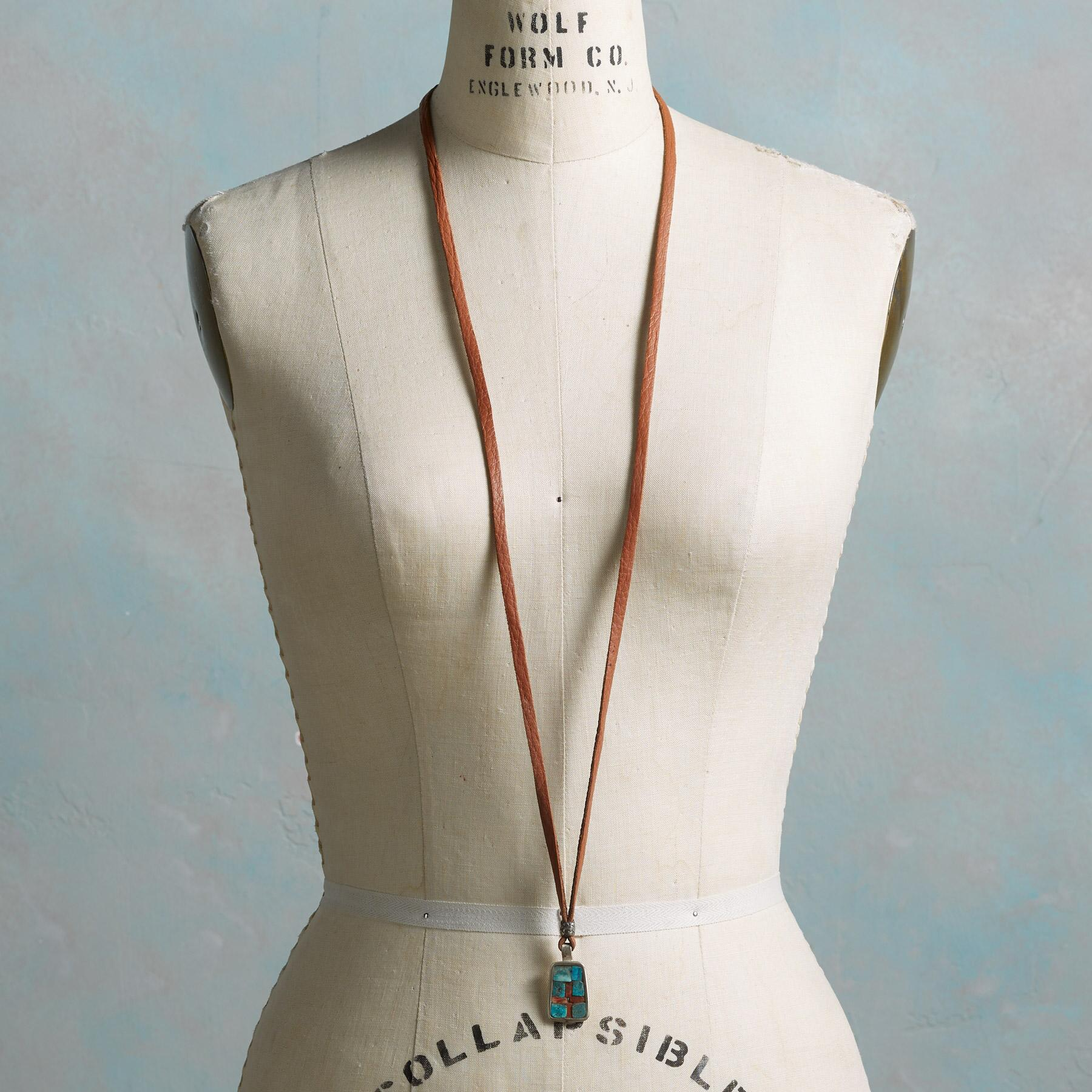 CHARLIE FAVOUR INLAID NECKLACE: View 4