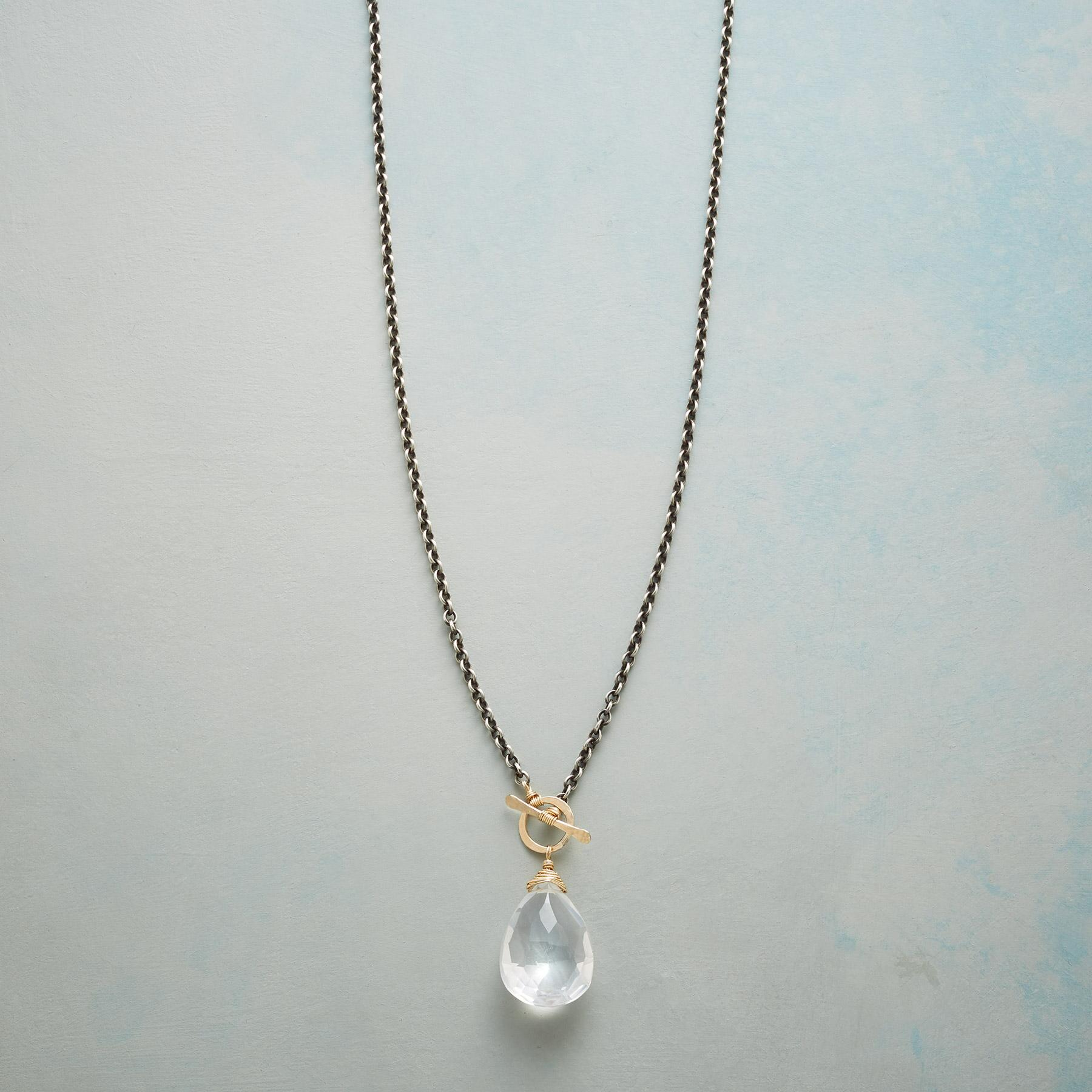 CLEAR FAVORITE NECKLACE: View 1