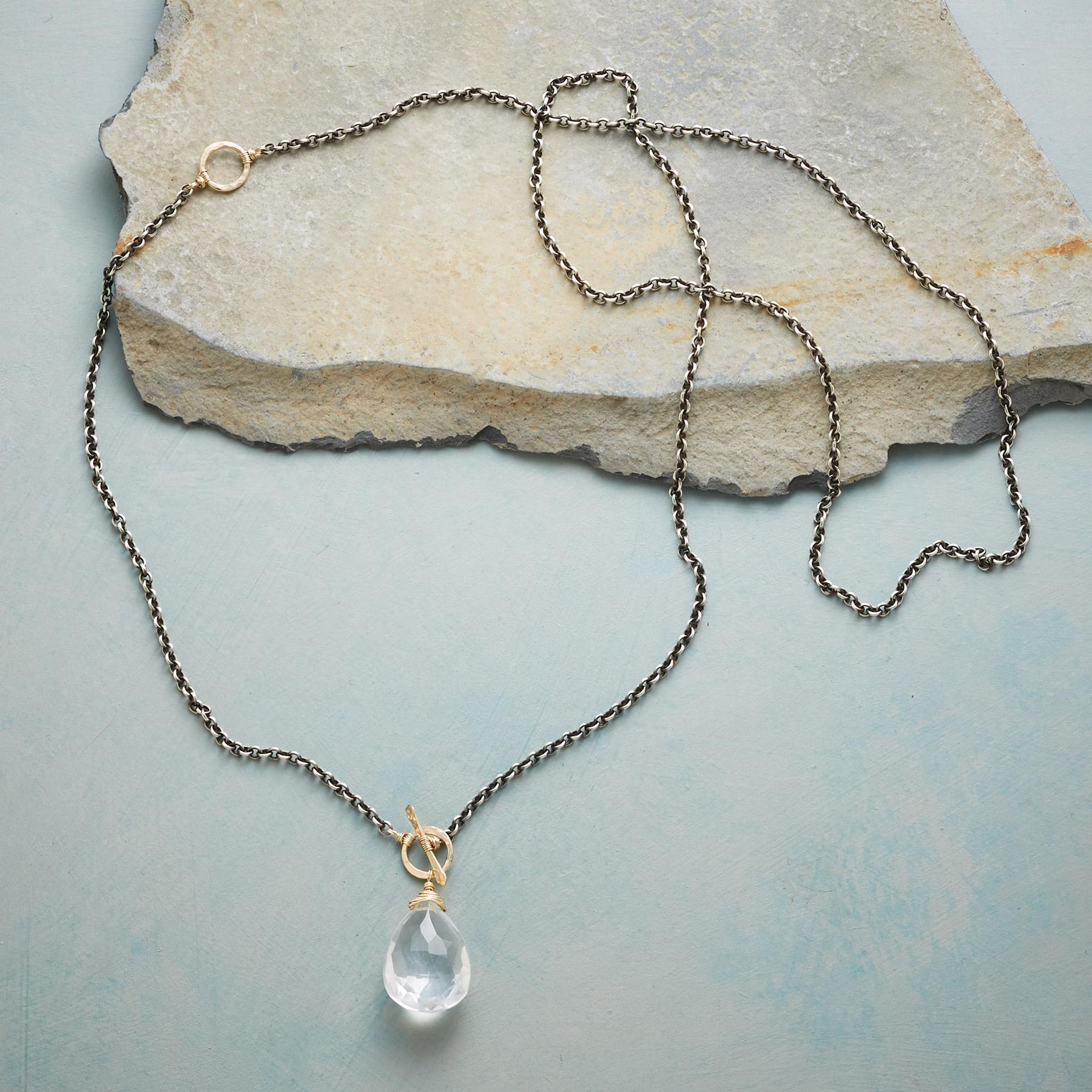 CLEAR FAVORITE NECKLACE: View 2