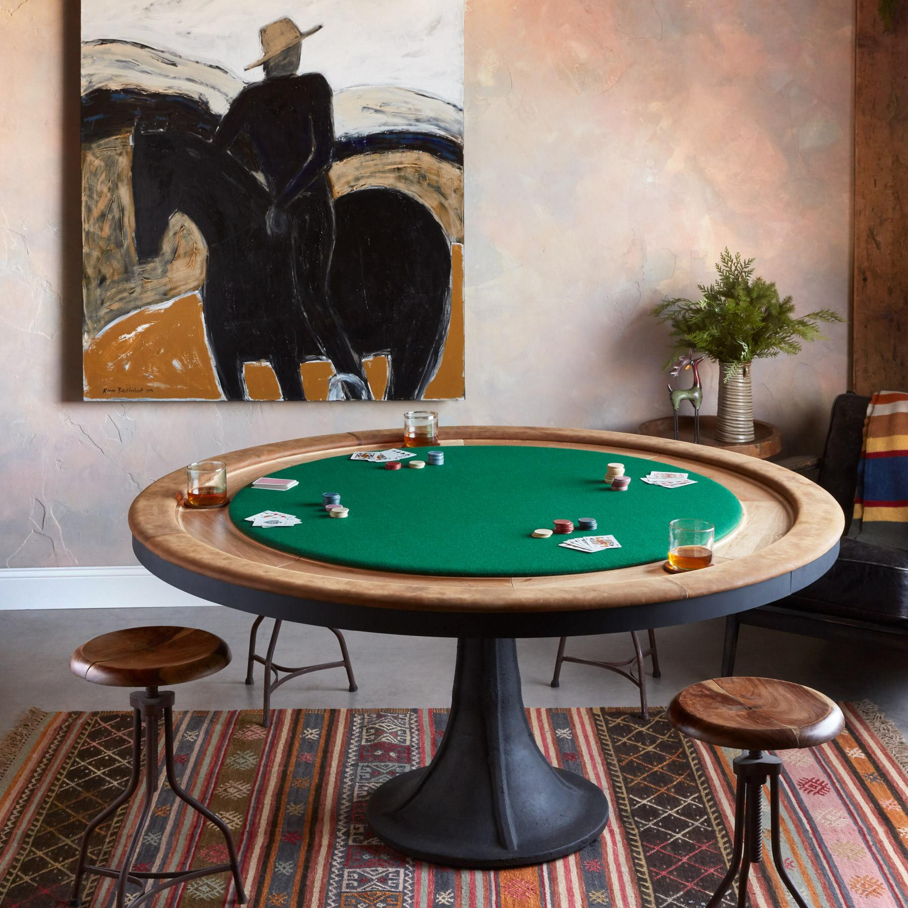 CLASSIC POKER TABLE: View 1
