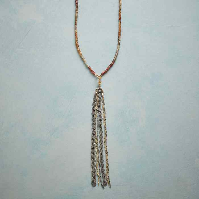 SUNSET TASSEL NECKLACE