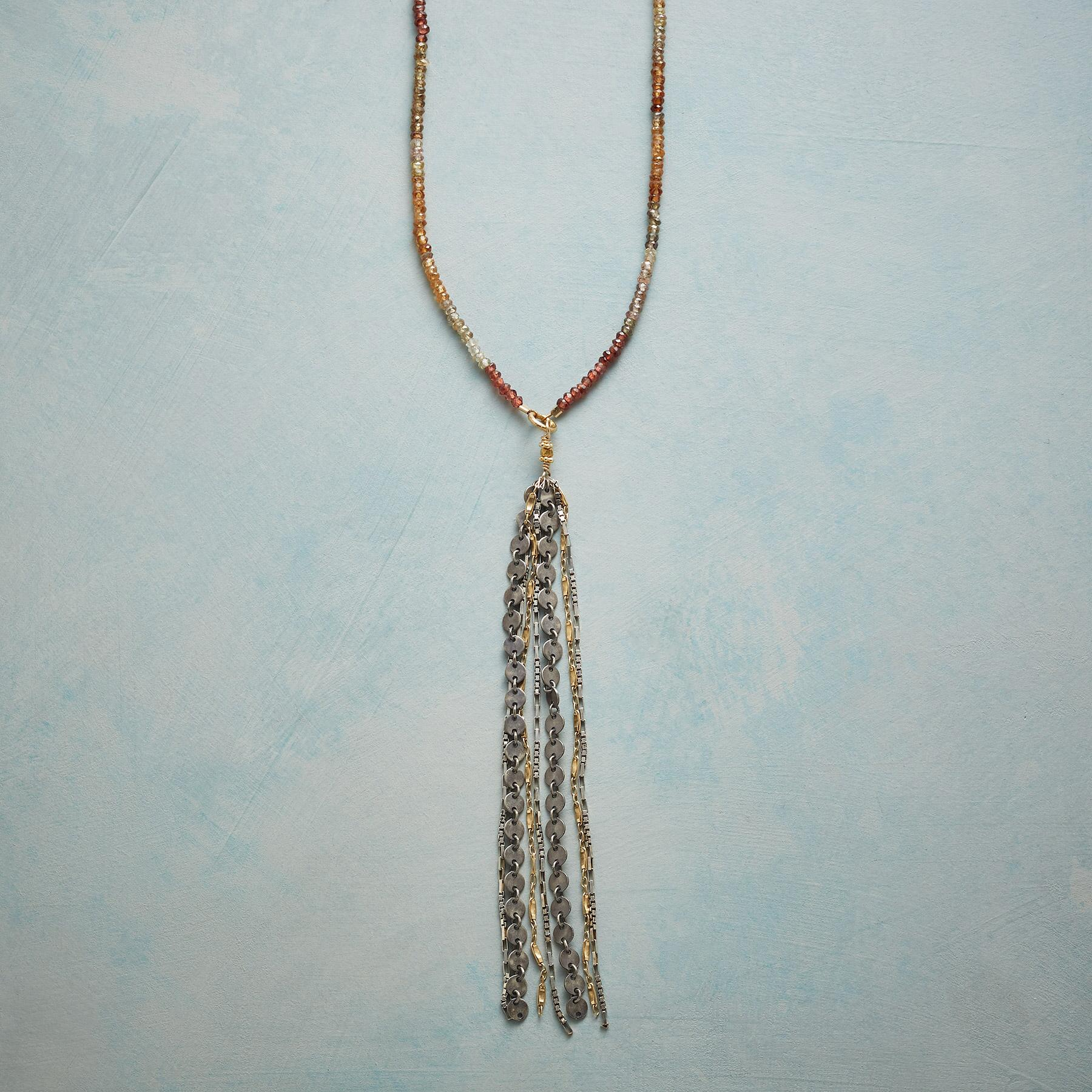 SUNSET TASSEL NECKLACE: View 1