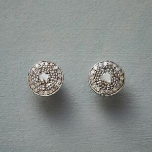 CHAMPAGNE AND STARLIGHT EARRINGS