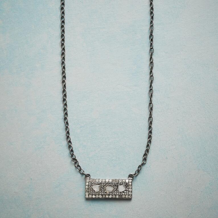 DIAMOND WINDOWPANE NECKLACE