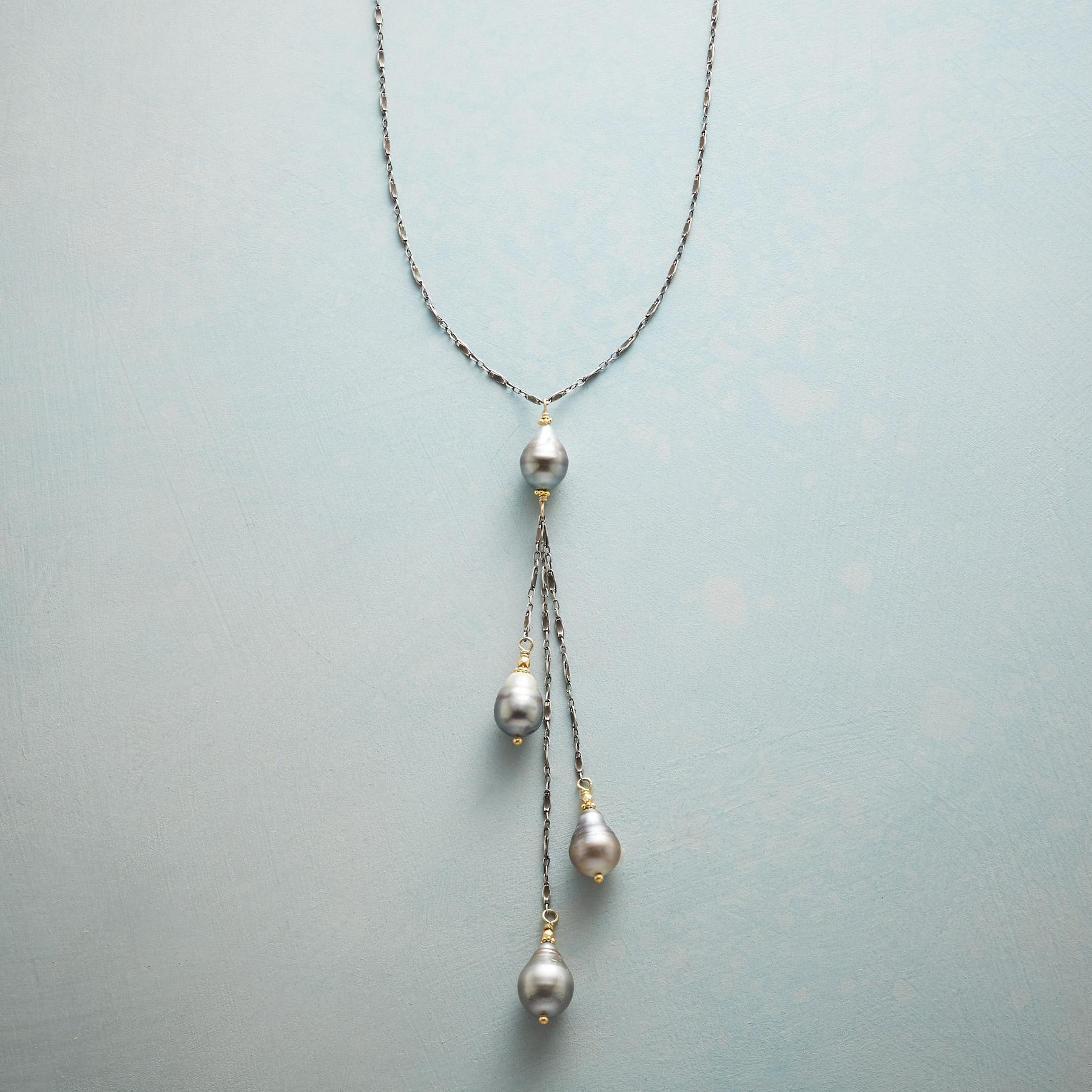 TAHITIAN CASCADE NECKLACE: View 1