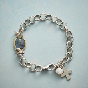 LINKED TO FAITH BRACELET