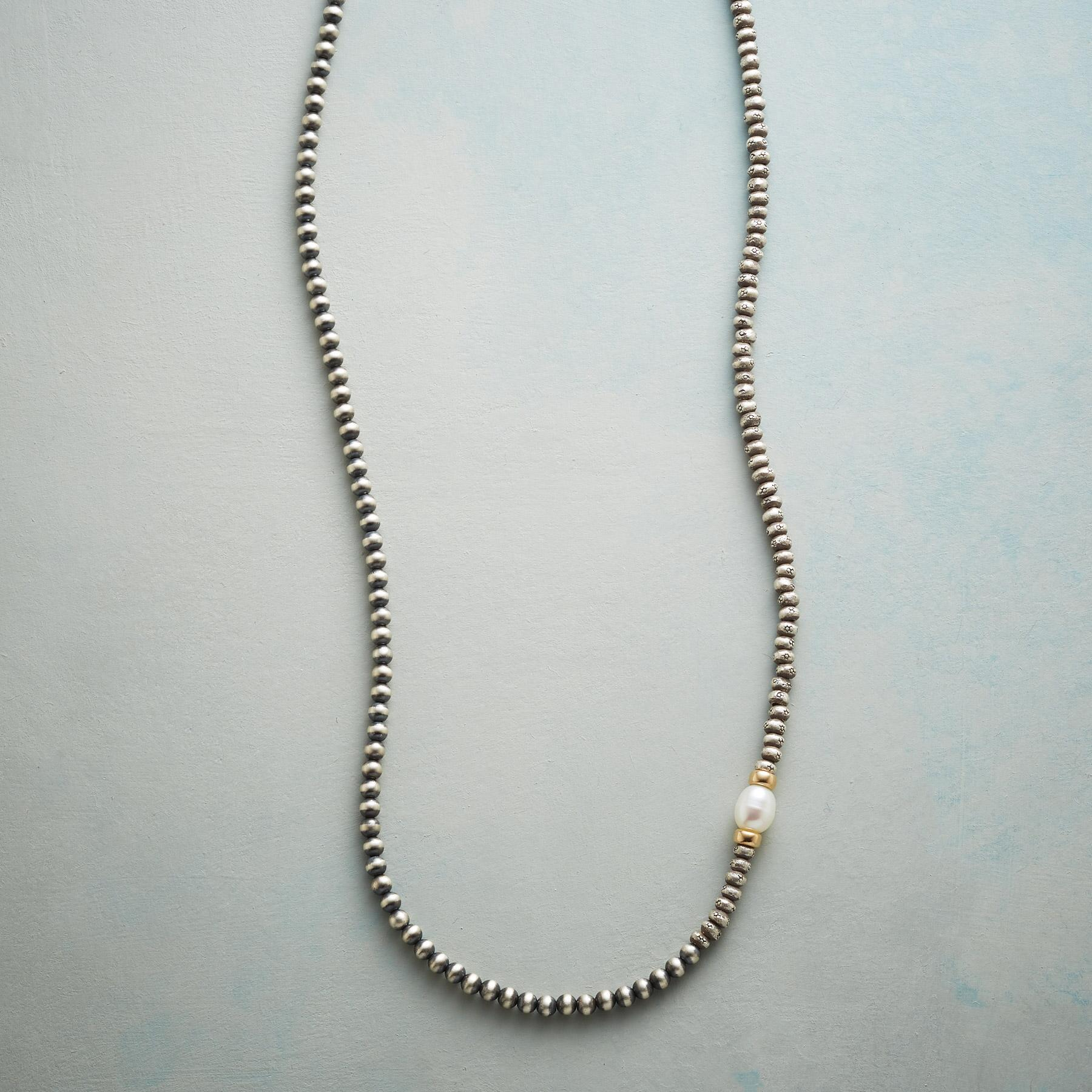PEARL ASKEW NECKLACE: View 1