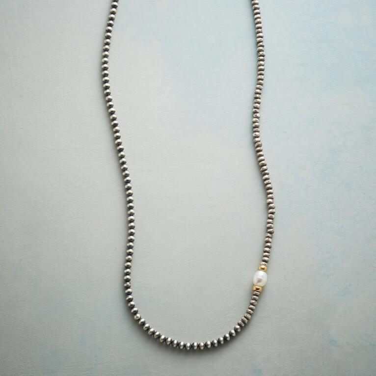 PEARL ASKEW NECKLACE