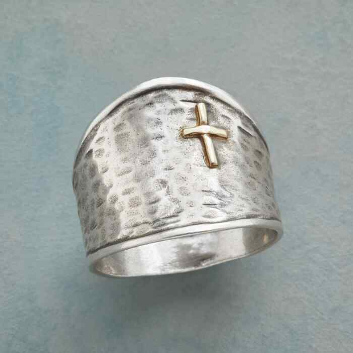 SIGN OF THE CROSS RING