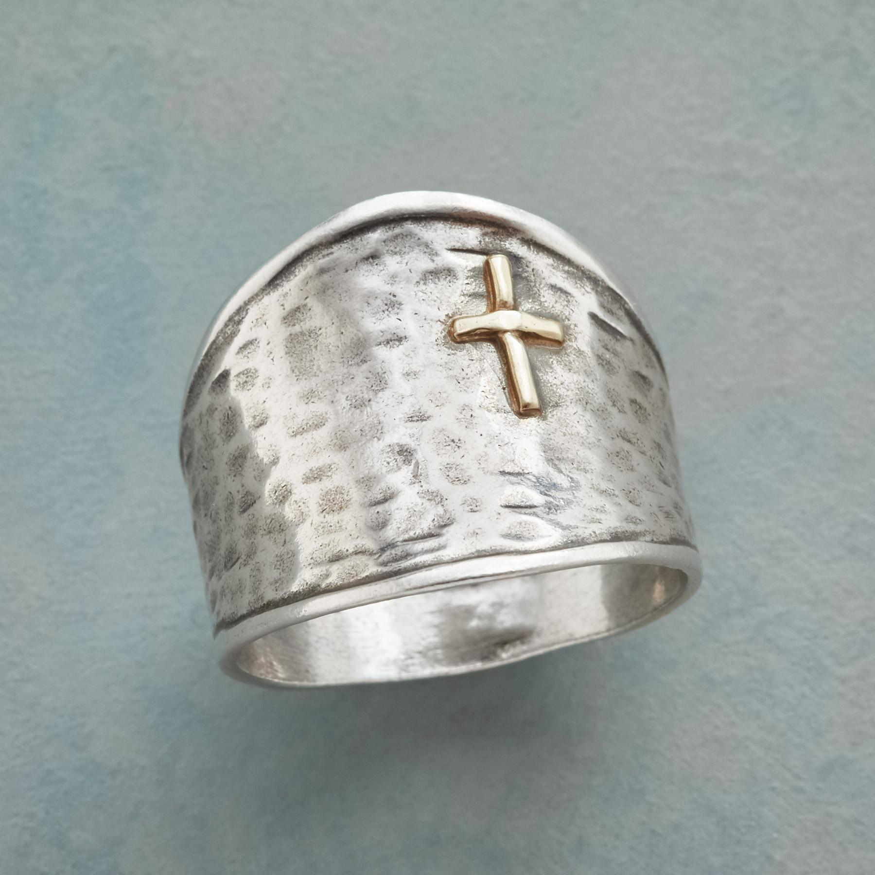 SIGN OF THE CROSS RING: View 1