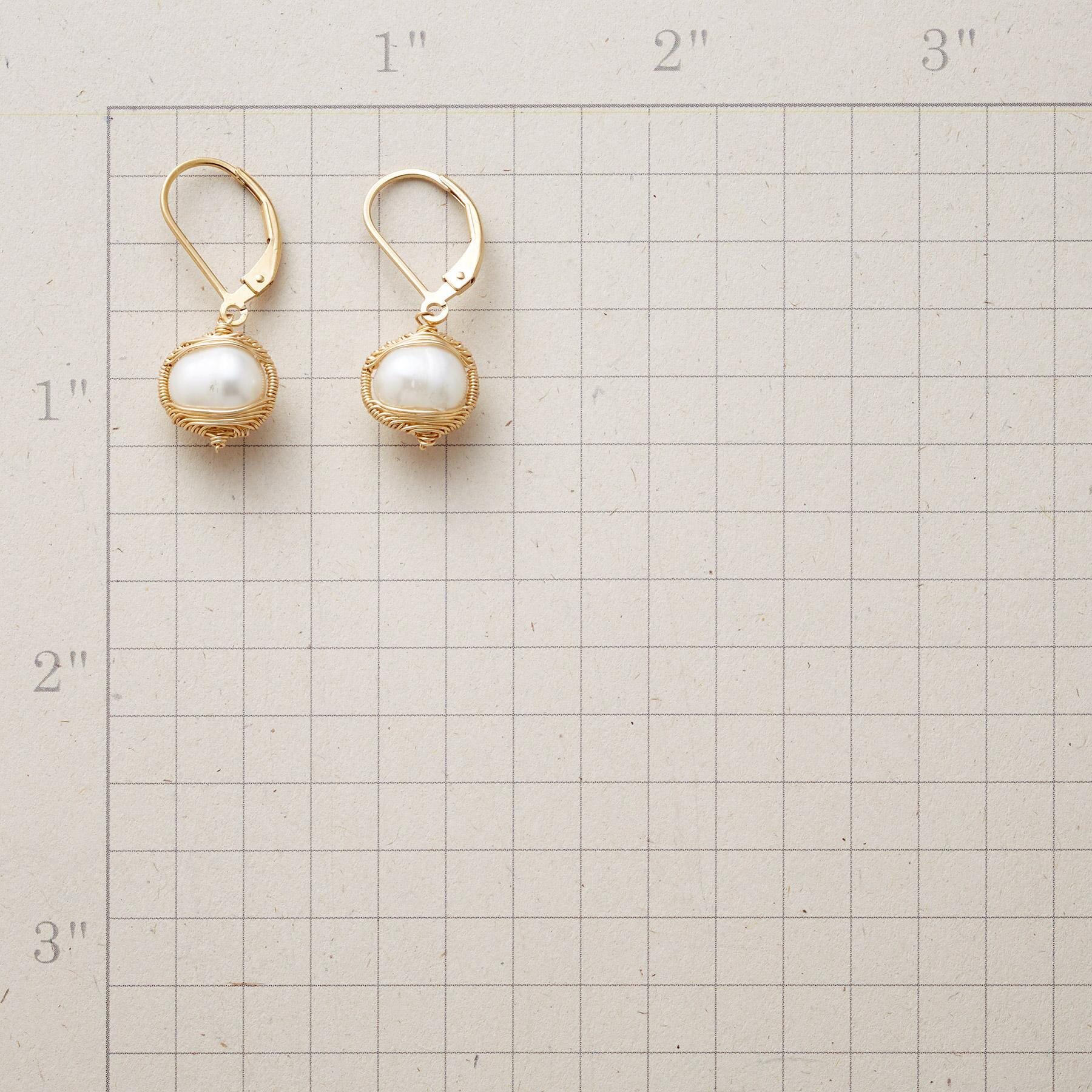 EMBRACEABLE PEARL EARRINGS: View 2