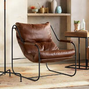 BUCHANAN LEATHER CHAIR