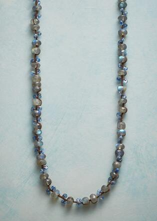 BLUE DUET NECKLACE