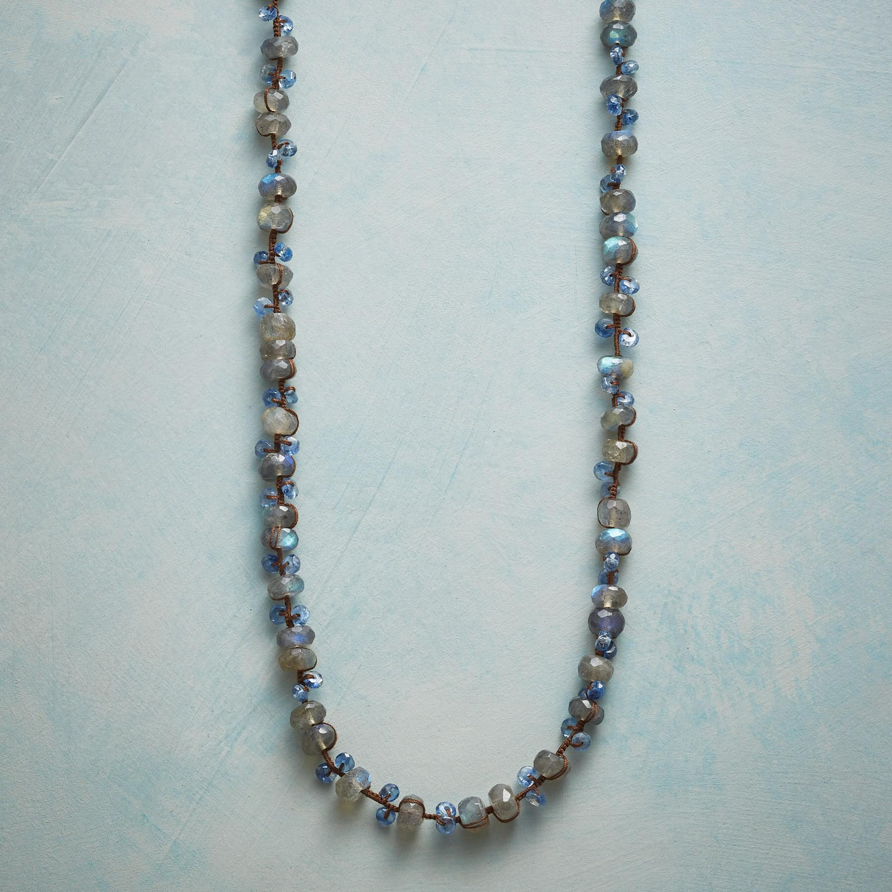 BLUE DUET NECKLACE: View 1
