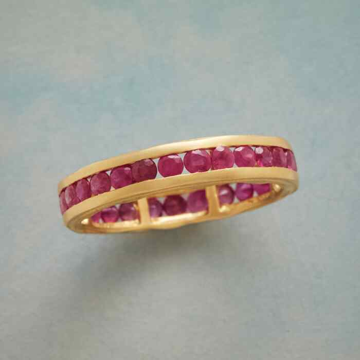 RUBIES ALL AROUND RING