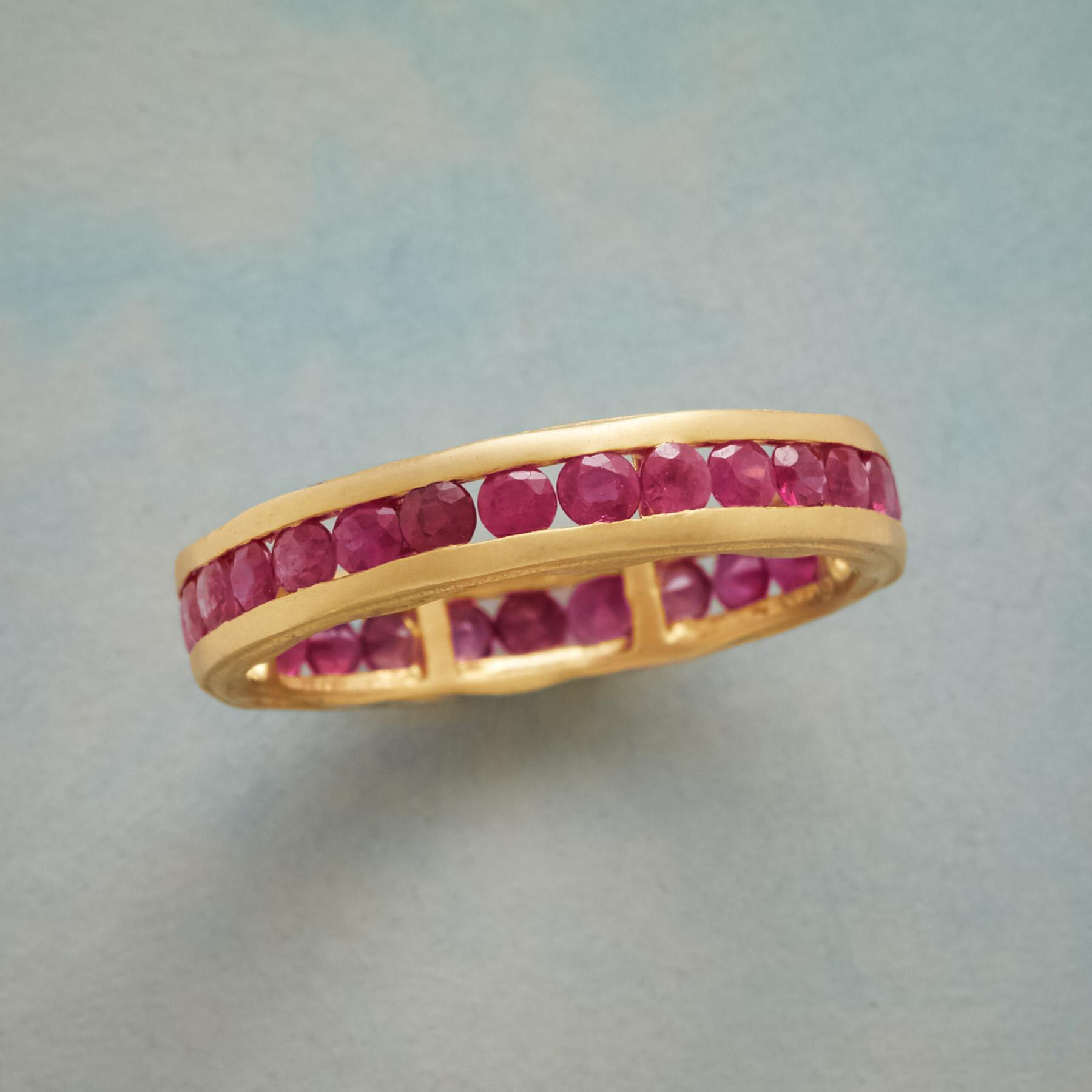 RUBIES ALL AROUND RING: View 1