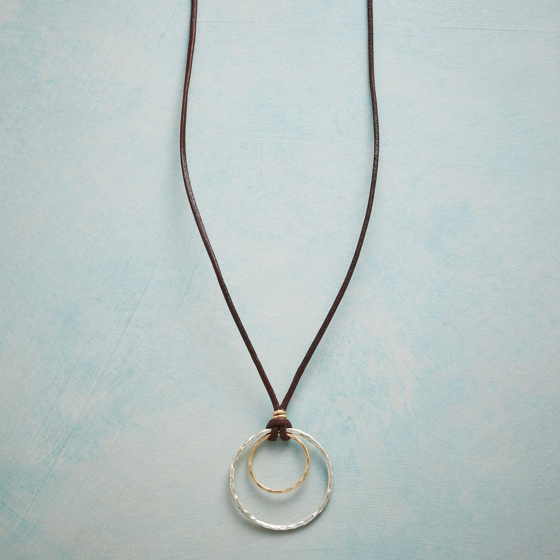 CIRCLES OF LOVE NECKLACE: View 1