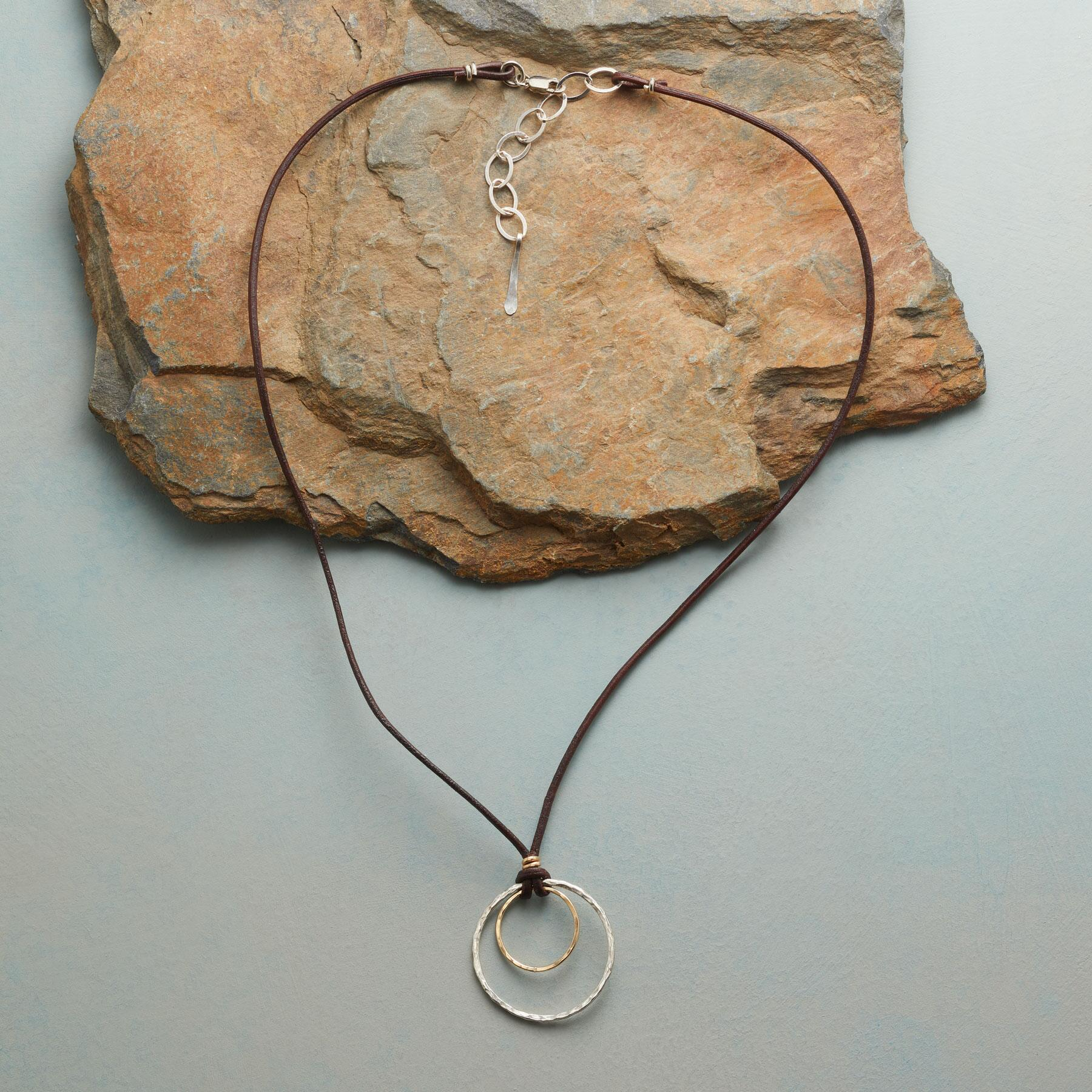 CIRCLES OF LOVE NECKLACE: View 2