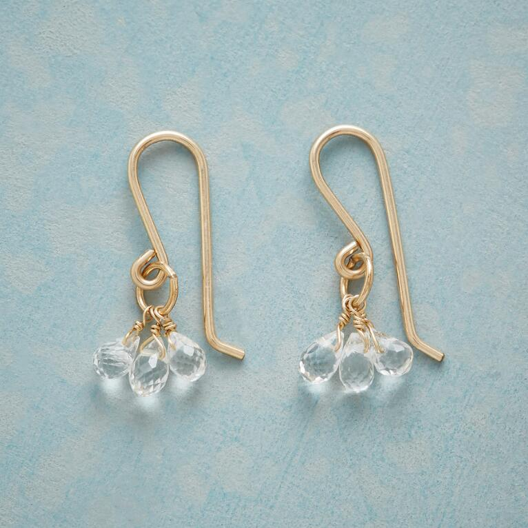 TOPAZ TEARDROPS EARRINGS