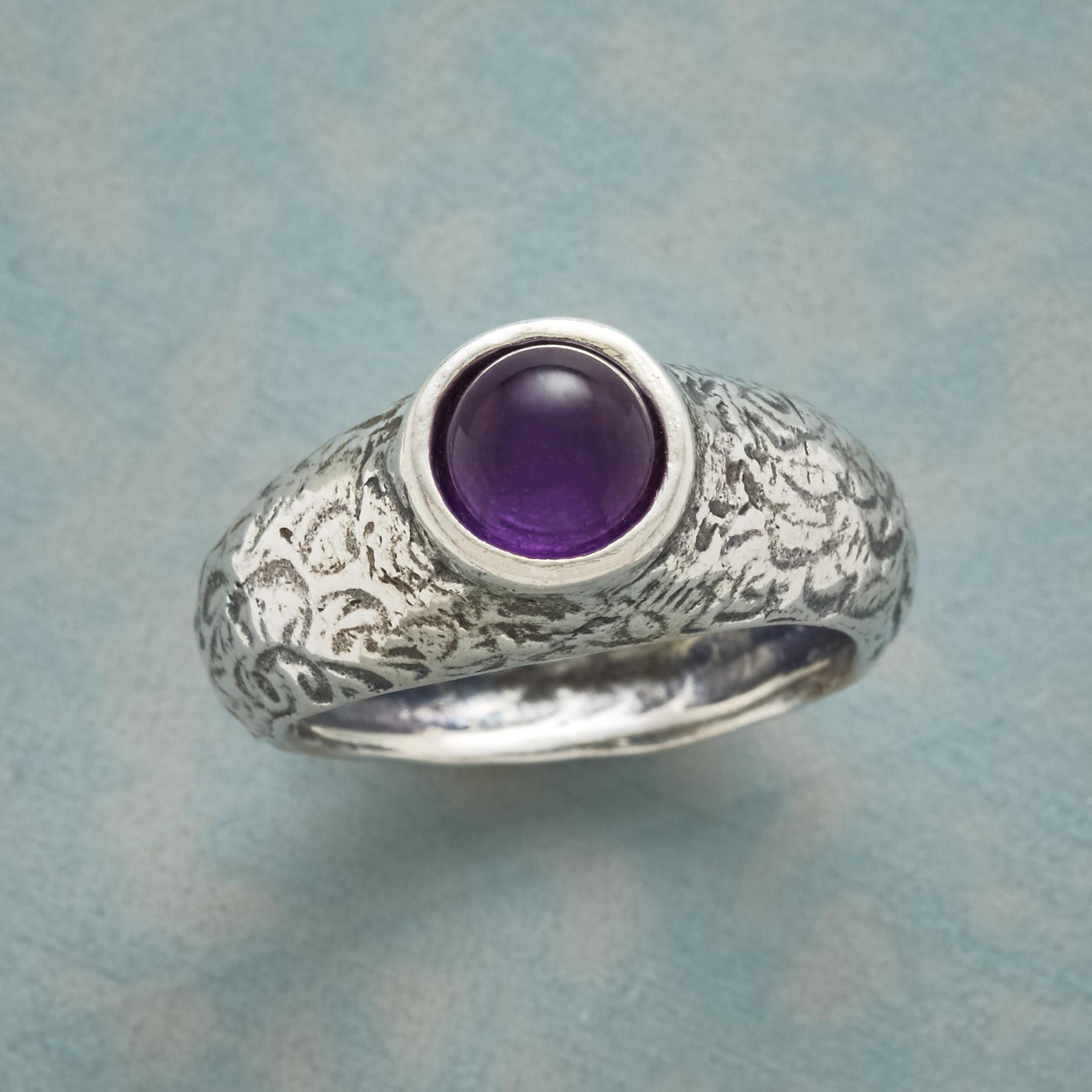 MT AMETHYST RING: View 1