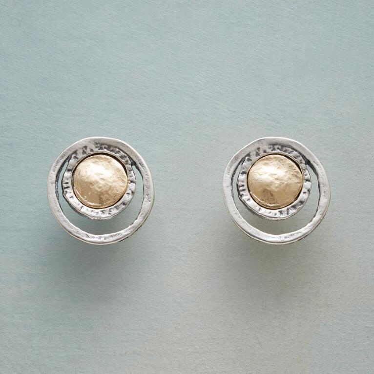 COIN & CRESCENT EARRINGS