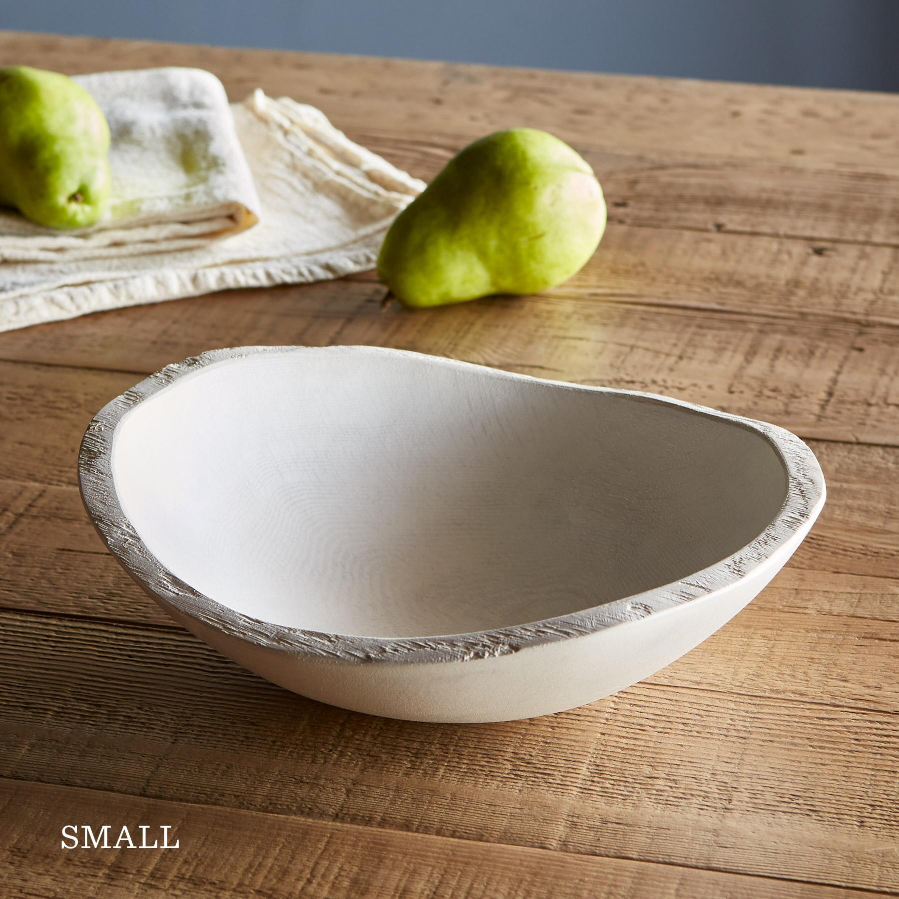 NEW ENGLAND WHITE OAK BOWL: View 2