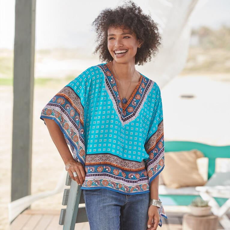 ISLAND MEDALLION TUNIC