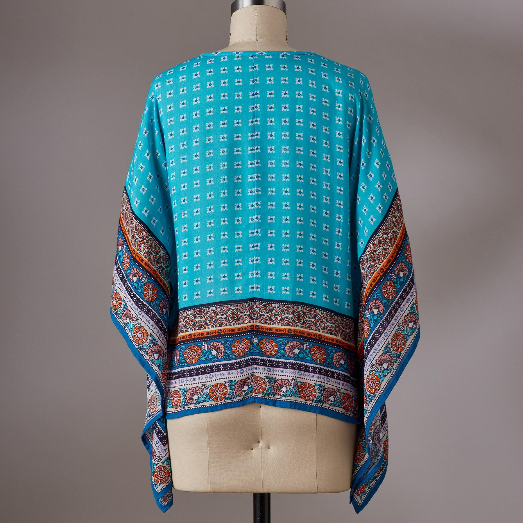 ISLAND MEDALLION TUNIC: View 3