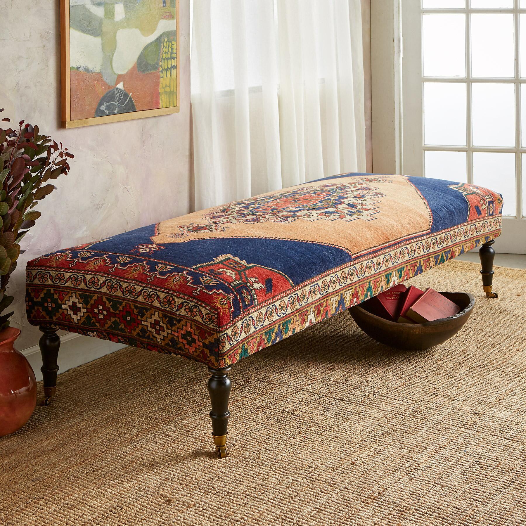 DALYAN TURKISH CARPET BENCH: View 1