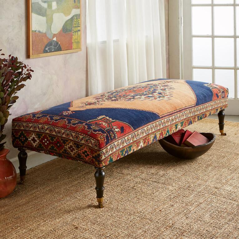 DALYAN TURKISH CARPET BENCH
