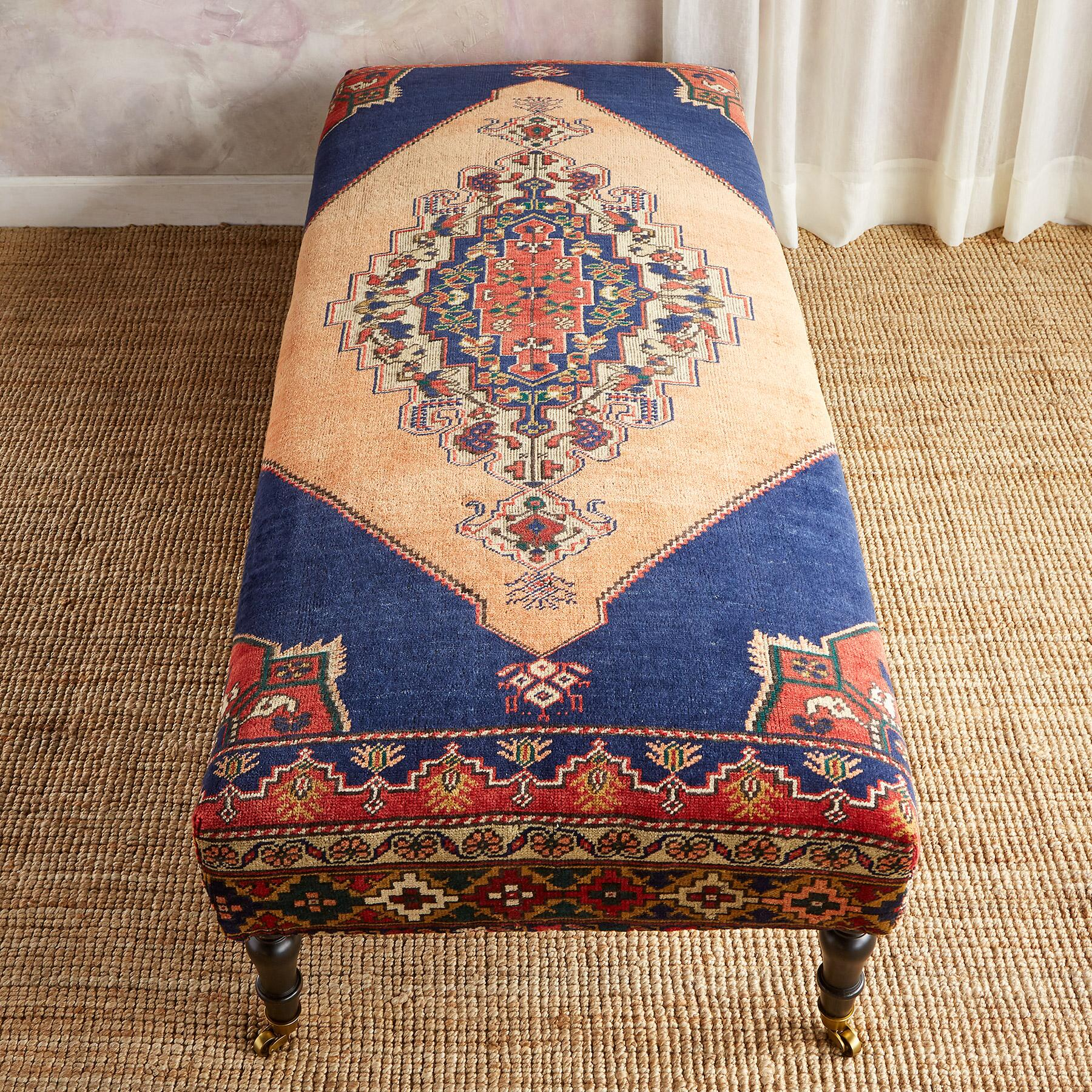DALYAN TURKISH CARPET BENCH: View 2