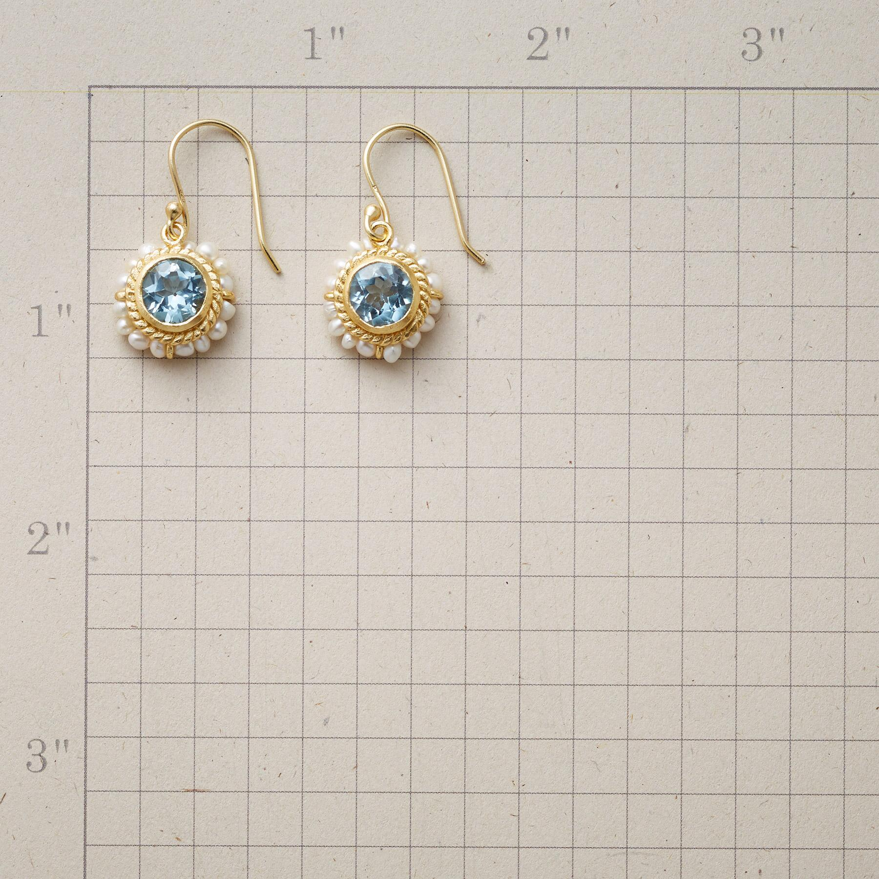 LUMINOUS BLUE TOPAZ EARRINGS: View 2