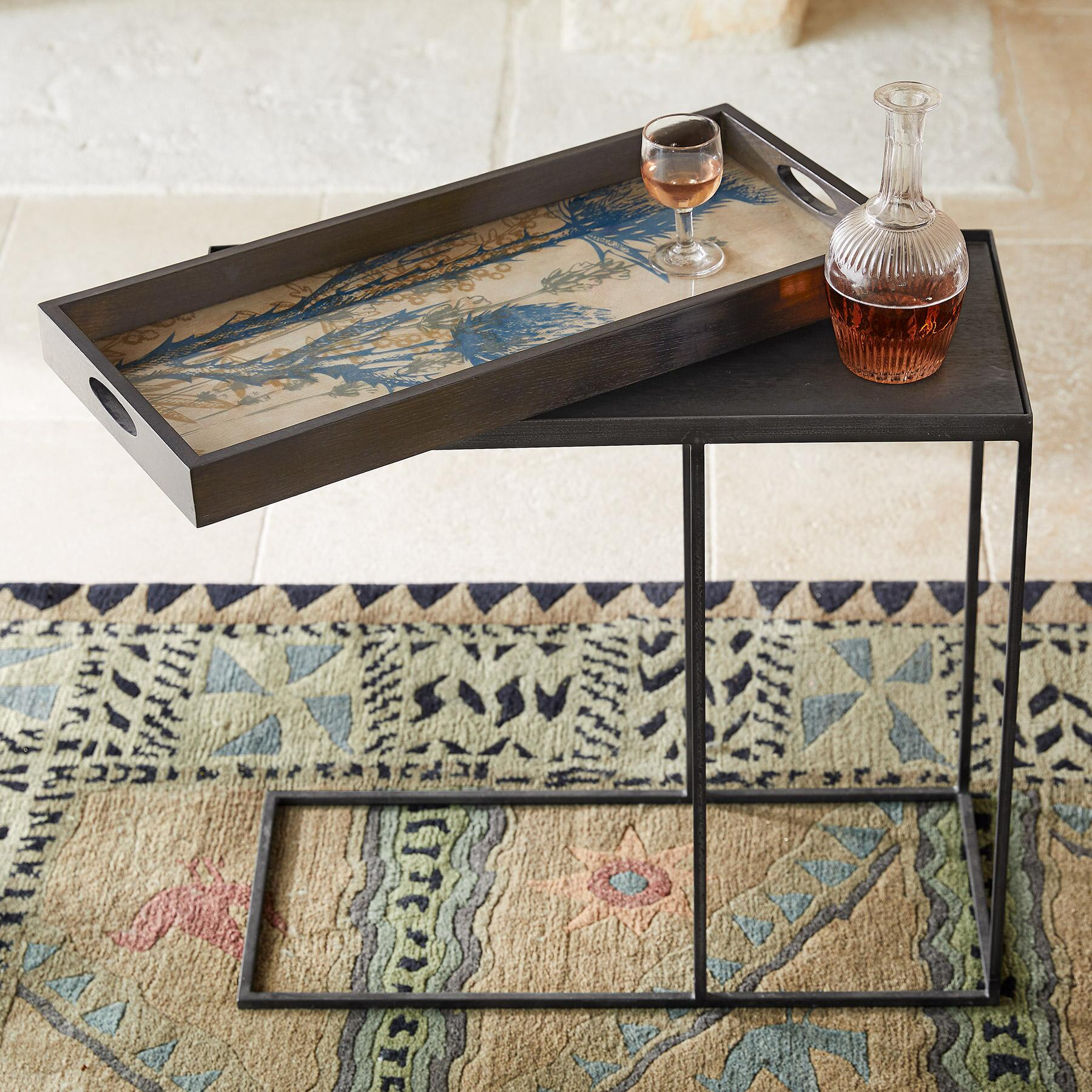 BOTANIQUE TRAY SIDE TABLE: View 1